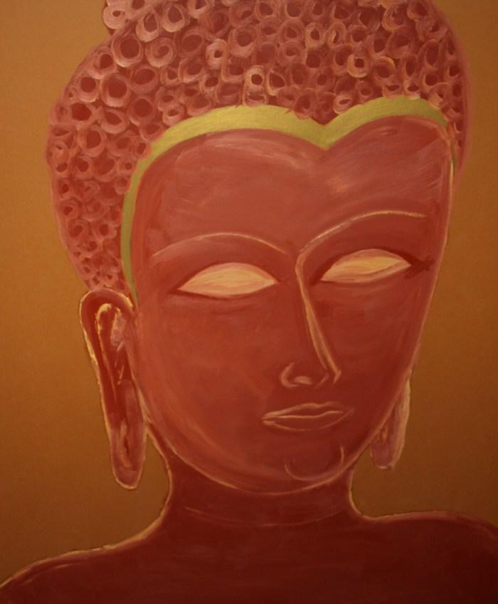 Buddha looking down
