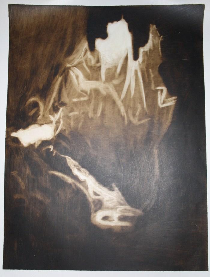 Light in a dark cave