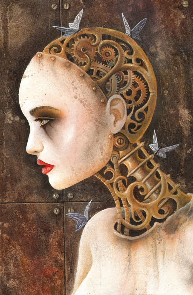 Clockwork Lady Ian Daniels