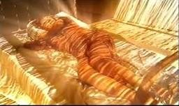 her naked in sun
