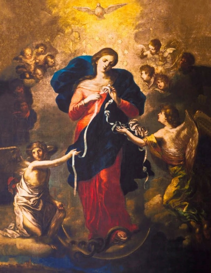 The healing mary-knots1 Johann Georg Melchior Schnidtner