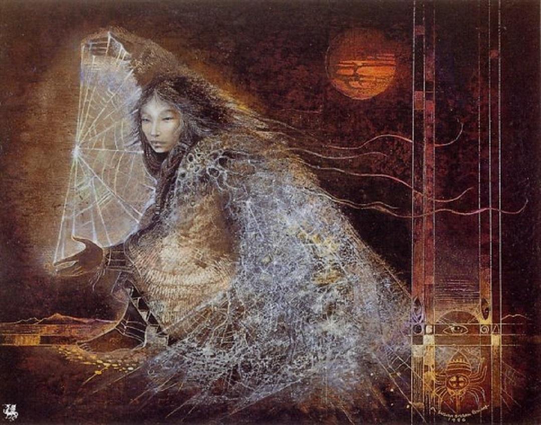 knot journeyingtothegoddess wordpress com susan_seddon_boulet_shaman_spider_woman