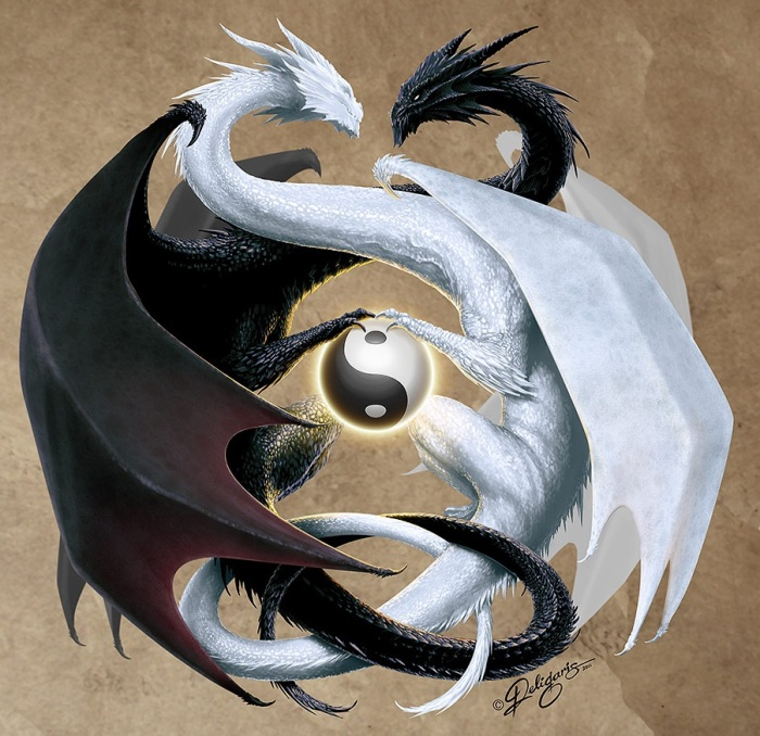 simplicity deviantart com double_dragon_by_deligaris-d3cyy91