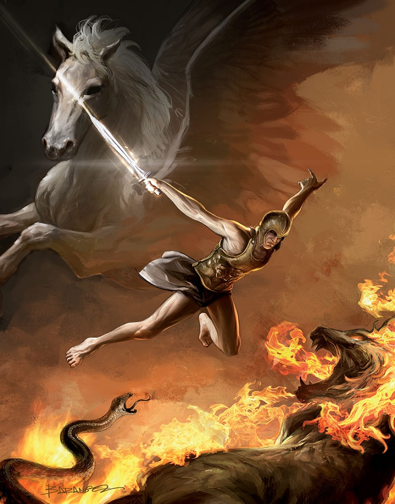 bellerophon mythische-wezens webklik nl