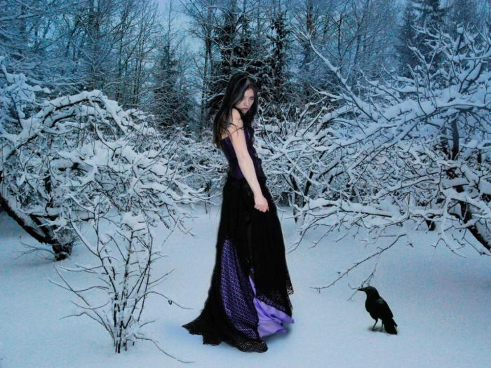burn it hdwallpaper com not_forget_snow_raven_fantasy_woman_winter_1280x960_hd-wallpaper-1503334