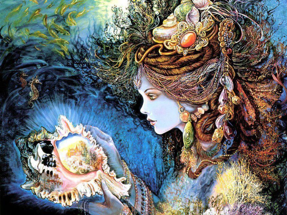 trail lovethispic com 45717-Woman-And-Seashell
