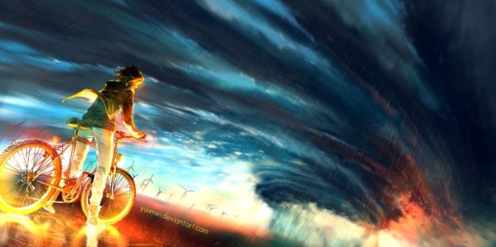 world deviantart com into_the_storm_by_yuumei-d8firo8