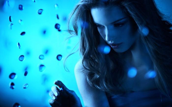 blue womens bg