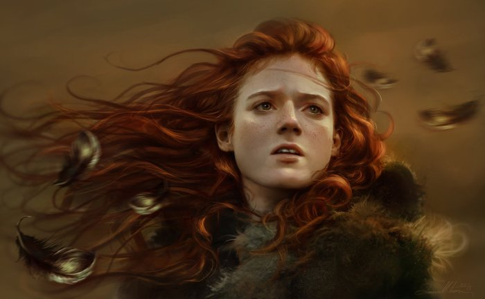 Crimson fields ygritte_by_aniamitura-d6jd03x