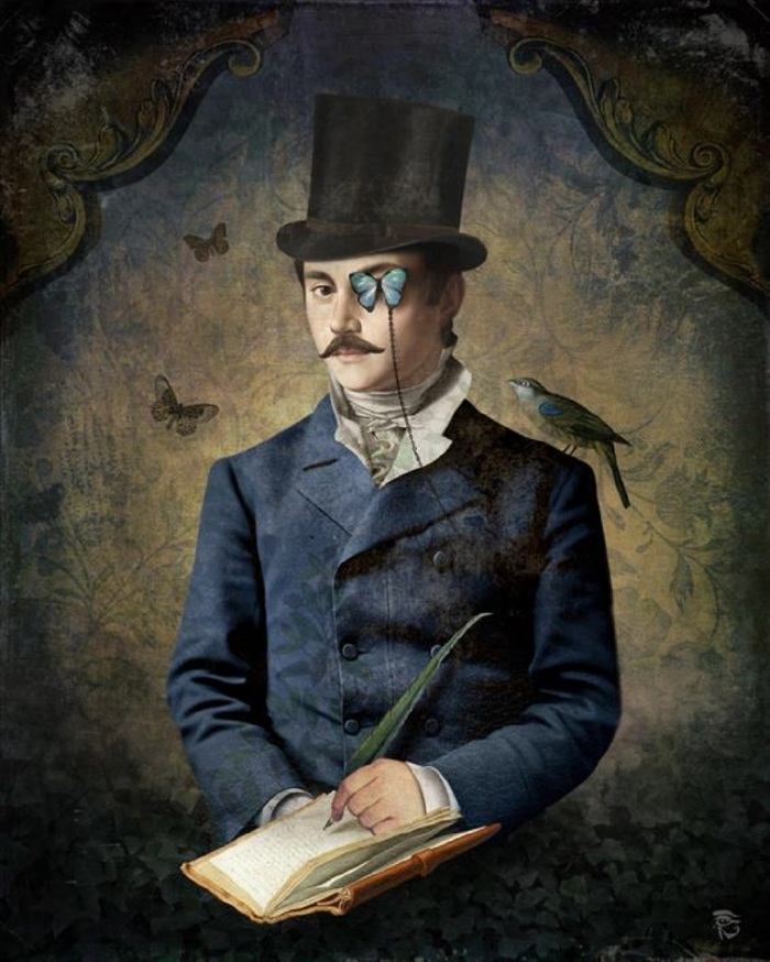 christian-schloe-man-with-butterfly-monocle-austrian-surrealist-digital-painter-tuttart-13