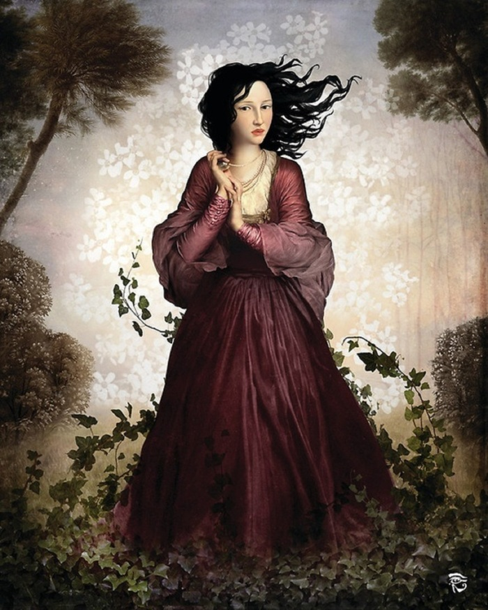christian-schloe-ring-of-creepers-around-woman