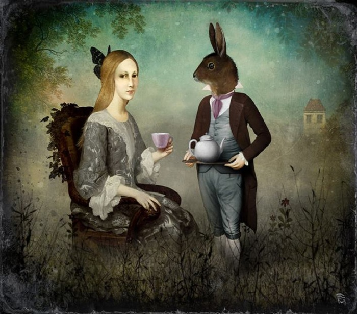 christian-schloe-tea-party-austrian-surrealist-digital-painter-tuttart-85