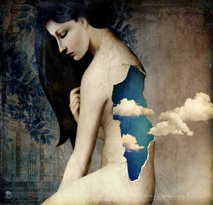 christian-schloe-woman-egg-crack-clouds