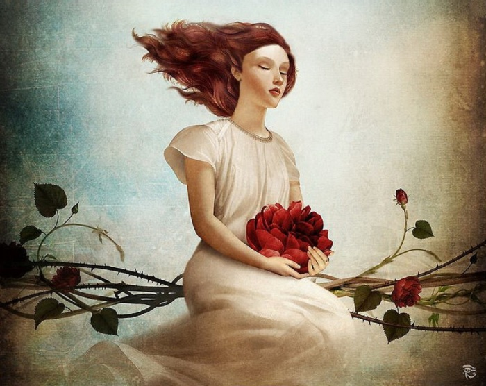 christian-schloe-woman-on-rose-bush