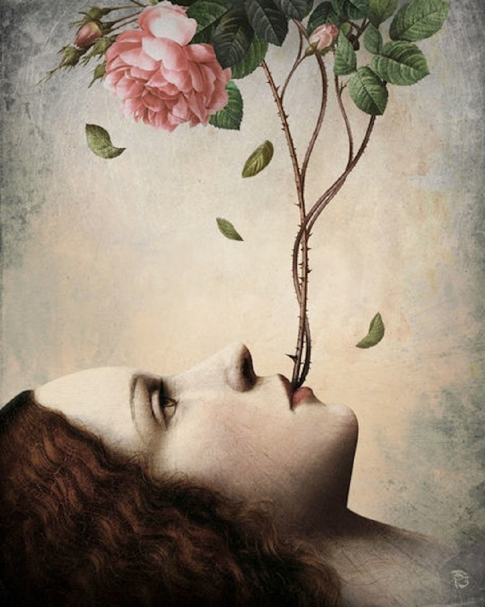 christian-schloe-woman-talks-rose-bush