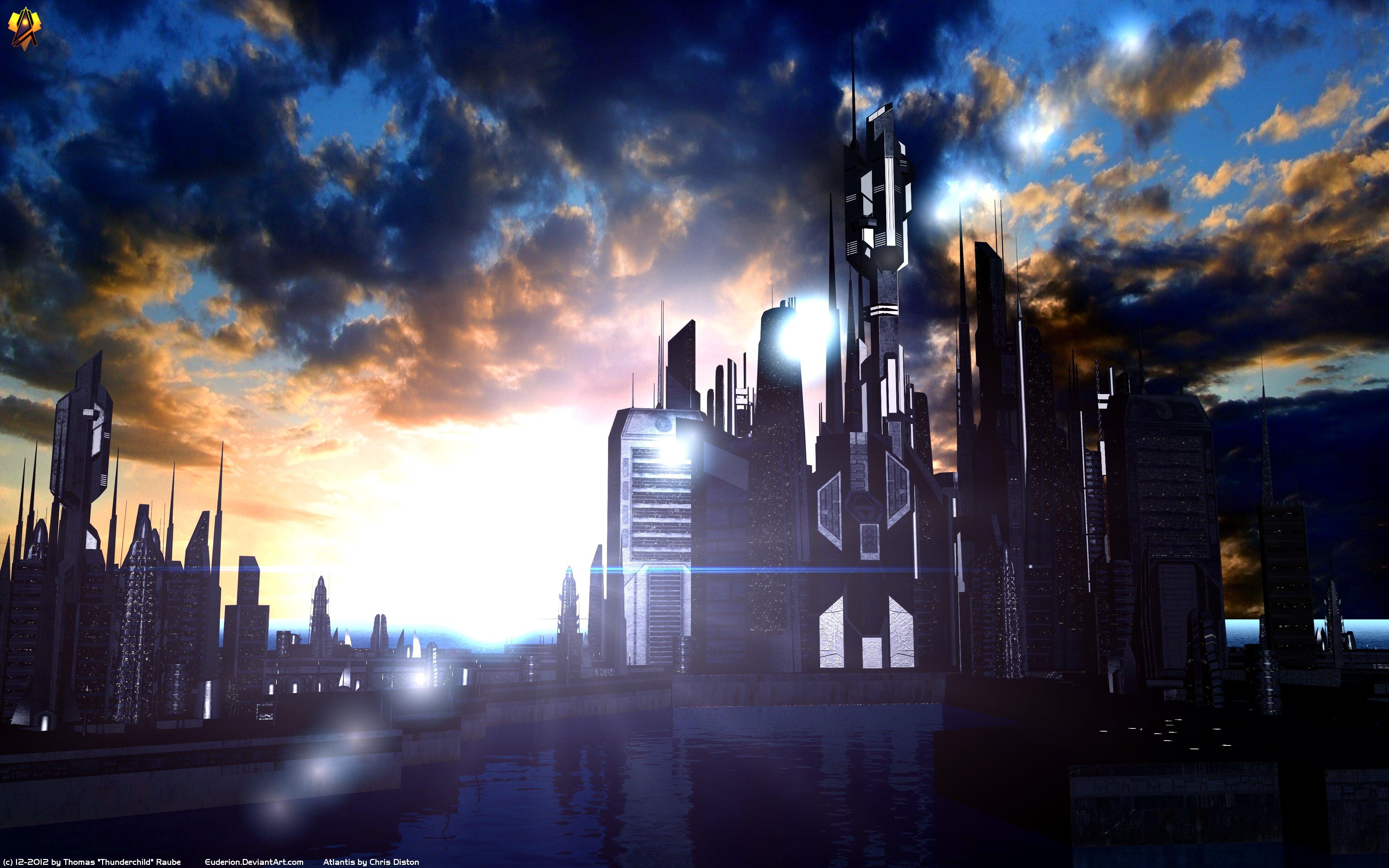 Journey deviantart com atlantis_sunset_by_euderion-d5nsn7k