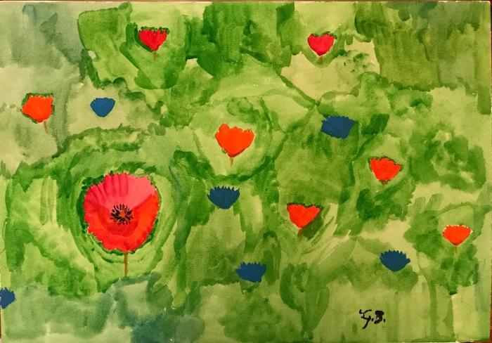 Poppies Alla Prima