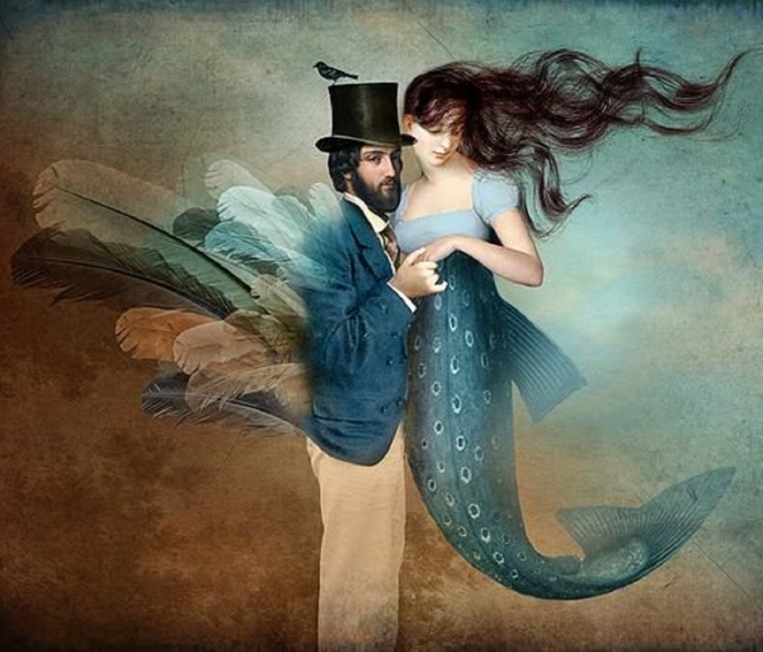 Celine Ricci bird and fish