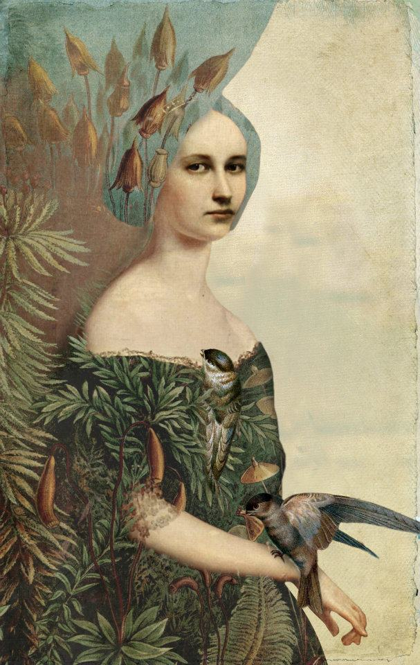 nothingness Catrin Welz-Stein - woman field German Surrealist Graphic Designer - Tutt'Art@ (4)