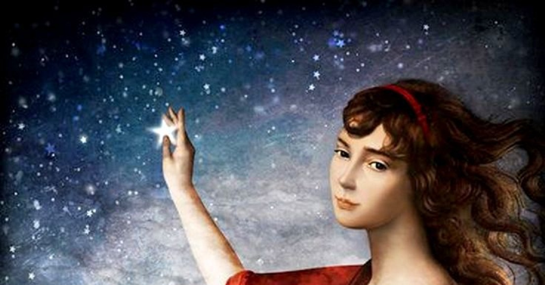 Love token The_Wishing_Star_-_painting_by_Christian_Schloe